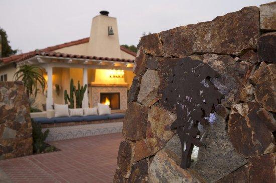 Rancho Santa Fe, Californie : Entrance
