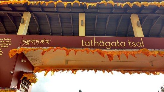 Ravangla, India: The grand entrance to the Buddha Park