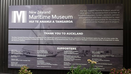 Voyager New Zealand Maritime Museum : And the adventure begins...