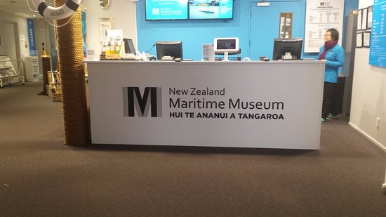 Voyager New Zealand Maritime Museum : The entrance