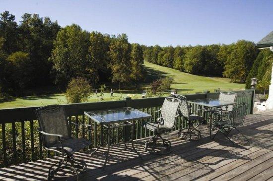 Lake Lure, Carolina del Norte: Deck View