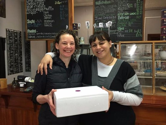 Riverton, Новая Зеландия: Iri and Marleen