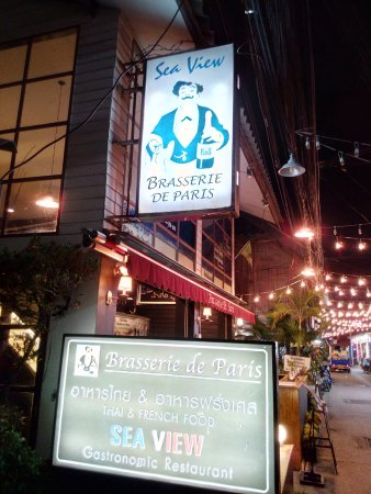 Brasserie de Paris, Naresdamri Road, Hua Hin, Thailand.