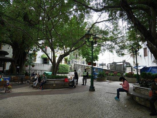 A Po Jing Square: のんびりした雰囲気です