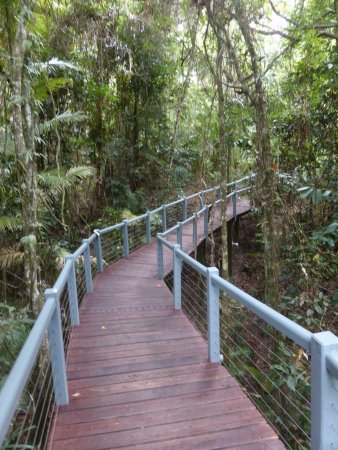 Mossman, Australien: One of the pathways within the grounds