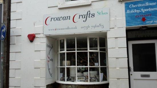 St Ives, UK: Crowan Crafts