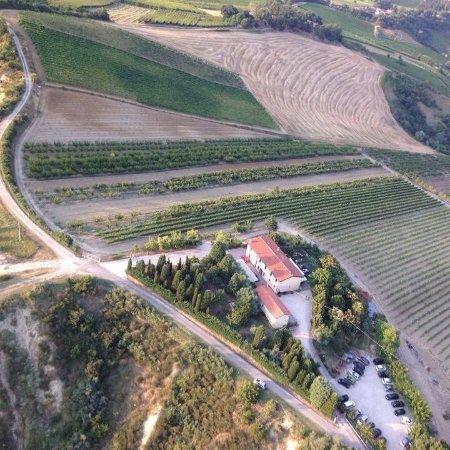 Riolo Terme, Italië: vista aerea