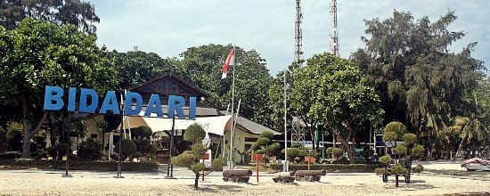 Pulau Bidadari, Indonezja: Bidadari Island