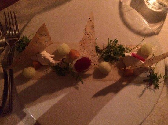 Brasserie de Paris: Whipped Goat's Cheese