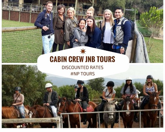Sandton, South Africa: Cabin Crew Tours - Lion Park & Horse Riding