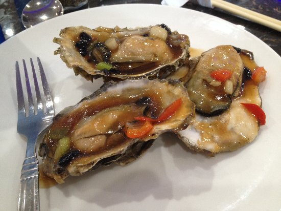 Happy Valley, OR: Black bean sauce oysters