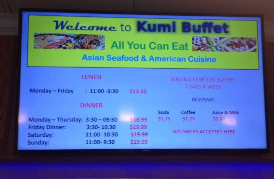 Happy Valley, OR: Kumi Buffet