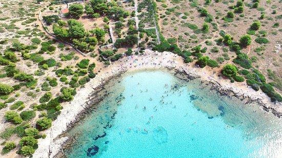 Zadar, Croácia: Levernaka beach