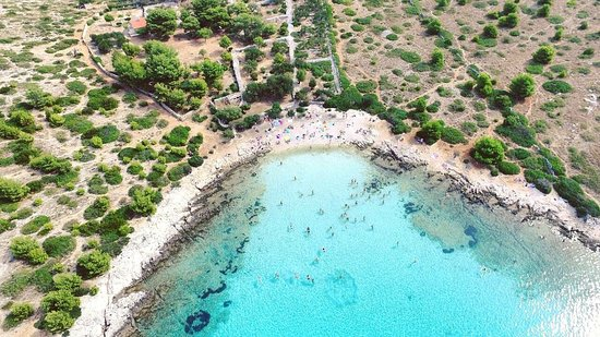 Zadar, Croacia: Levernaka beach