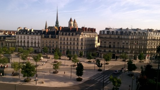 Grand Hôtel La Cloche Dijon - MGallery Collection: this was the view from my balcony