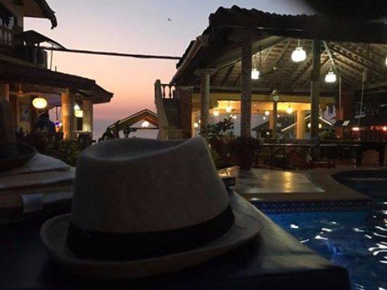 Anjuna, Indien: Sunset @Alcove