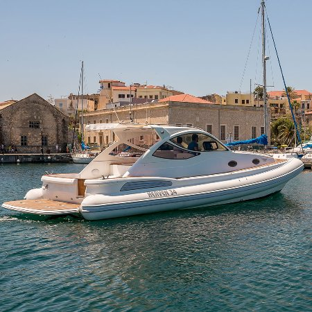"Chania, Grekland: Sea Breeze Cruises Boat Heaven 34HT ""Poseidon"""