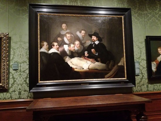 The Anatomy Lesson Of Dr Nicolaes Tulp Rembrandt Picture Of The