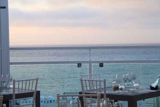 Terrazza vista mare con menu alla Carta - Picture of Al Brigantino ...