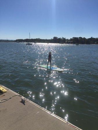 Noosaville, Australien: Stand up paddling