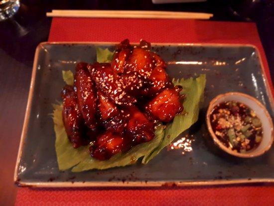 Saba: chicken wings