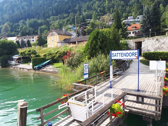 L'arrivo a Sattendorf...via lago