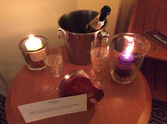 Astoria Hotel: Birthday treat