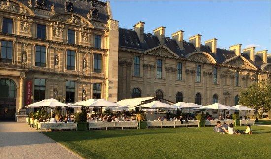 Vue depuis les jardins des tuileries vers 18h picture of loulou paris restaurant paris - Jardin des tuileries restaurant ...