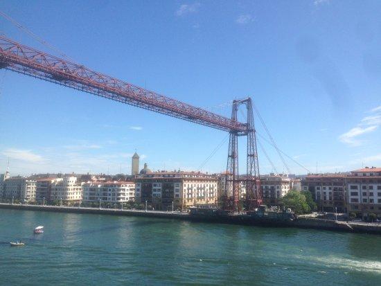Province of Vizcaya, Spain: El puente colgante