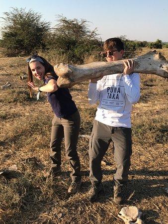 Imbabala Zambezi Safari Lodge: Fabulous stay! AB and Richard are great guides. John and Sara and the crew superb hosts. Such fu