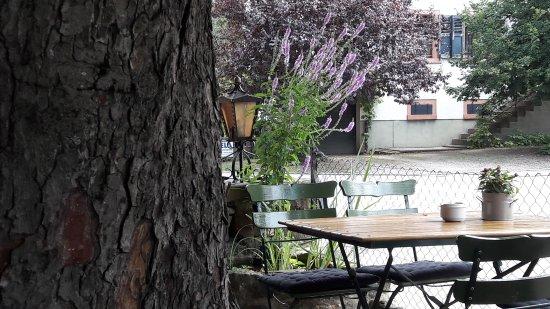 Kandern, Alemania: Gemütlicher Garten