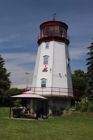 Prescott Lighthouse from the front