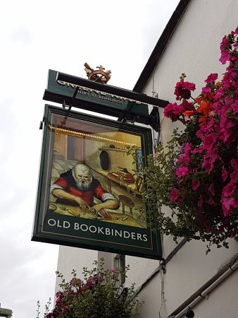 The Old Bookbinders Ale House: Old Bookbinders Alehouse sign