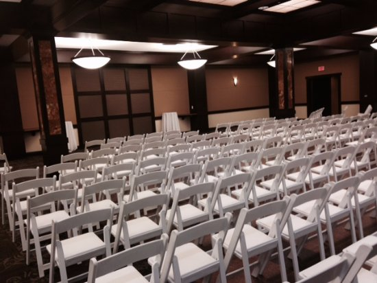Lindsborg, KS: Banquet Hall - Wedding Ceremony