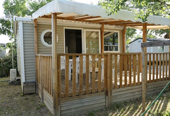 Camping Le Rochelongue: Mobil-home 1 chambre