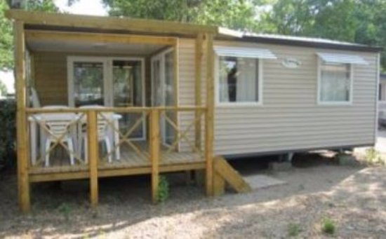 Camping Le Rochelongue: Mobil home 2 chambres sans climatisation
