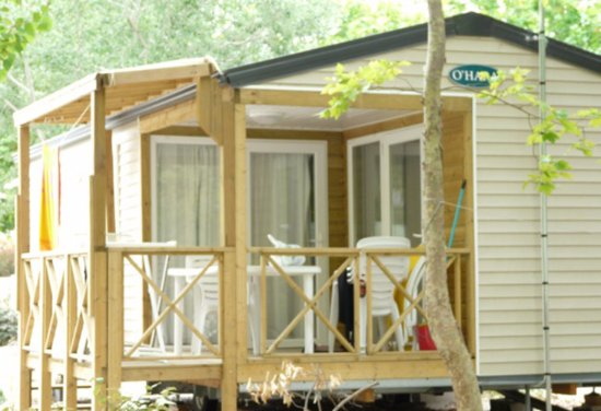 Camping Le Rochelongue: Mobil home 2 chambres climatisé