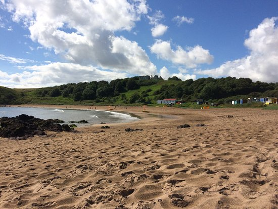 Coldingham bay early in the morning