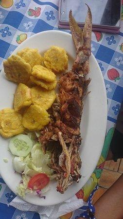 Boca de Yuma, Den Dominikanske Republik: Excelente lugar para una buena comida y despejar la mente, muy limpio y económico.