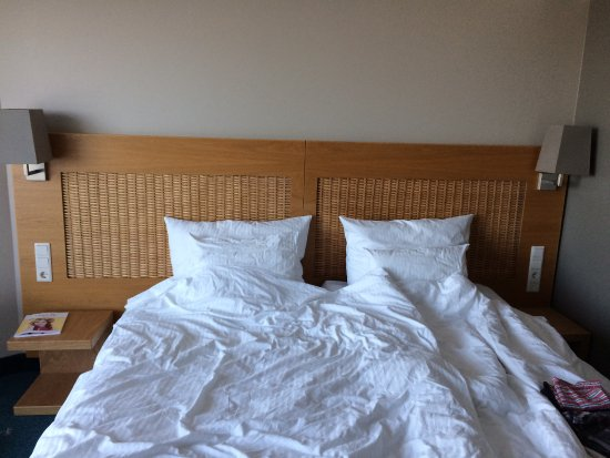 Georg Ots Spa Hotel: comfortable bed