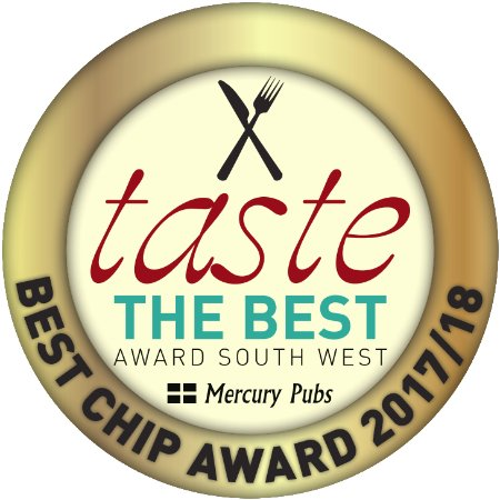 Winners of the Best Chip Award South West (Mercury Pubs)