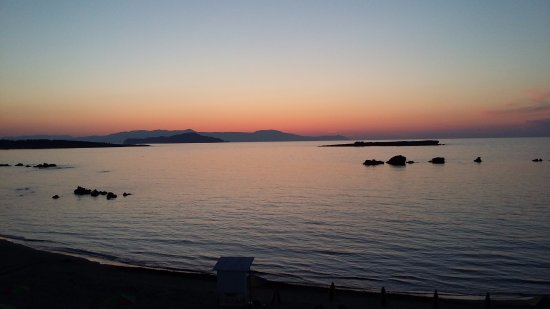 Danaos Hotel: Nice sunset