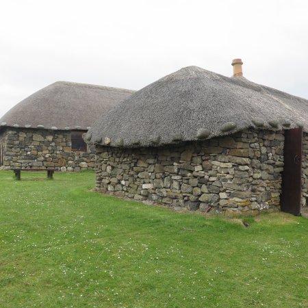 Skye Museum Of Island Life : Skye Museum Of Island, Maison Au Toit De Chaume