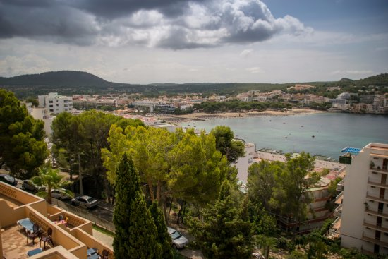 Club Santa Ponsa : View from the pool area
