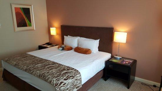 The Aquincum Hotel Budapest: la cama king size