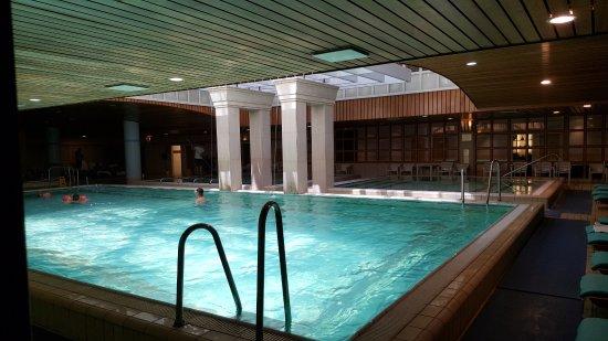 The Aquincum Hotel Budapest: LA piscina caliente