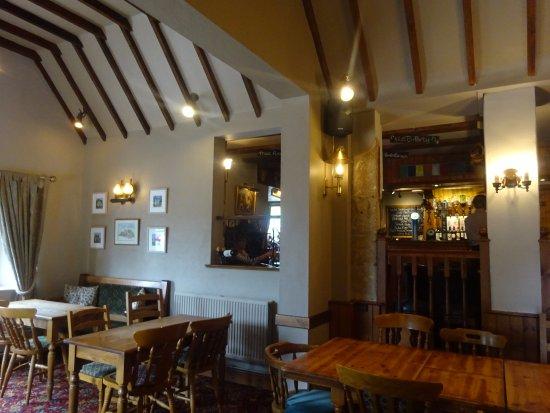 Chalford, UK: pub interior