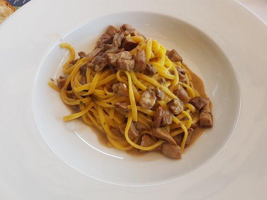 pasta met lam