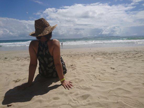 Hesperia Playa El Agua: Salida a Playa el Agua, ambiente y vistas increíbles