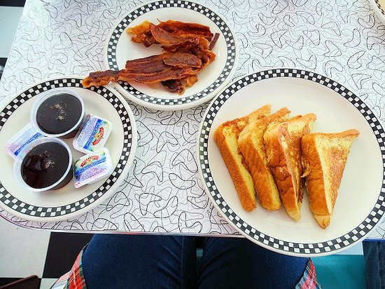 Pop's Diner: french toast